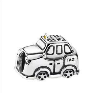 Pandora RETIRED taxi cab charm